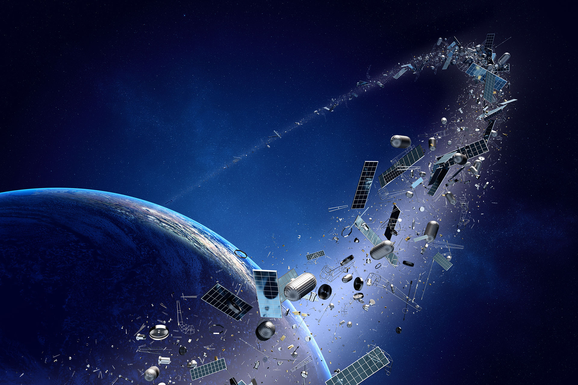 How safe are we from falling satellites or space junk?